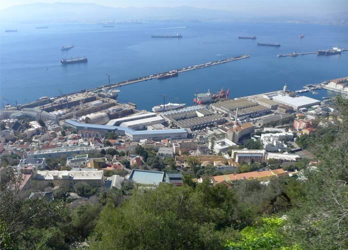 gibraltar-hafen