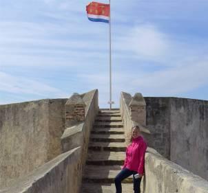 Tarifa Flagge und Inga