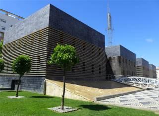 Huelva modernes Wasserwerk