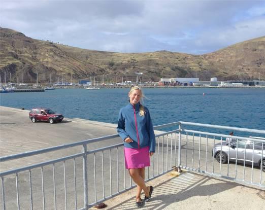Porto Santo am Hafen