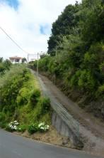 Madeira steile Strassen