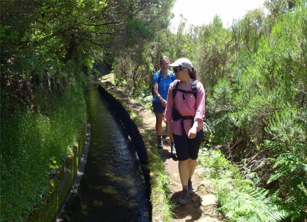 Madeira 2 Mareike und Inga