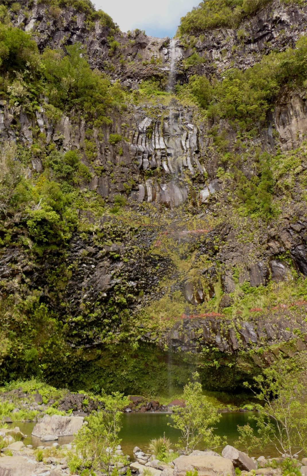 Madeira 2 Wasserfall