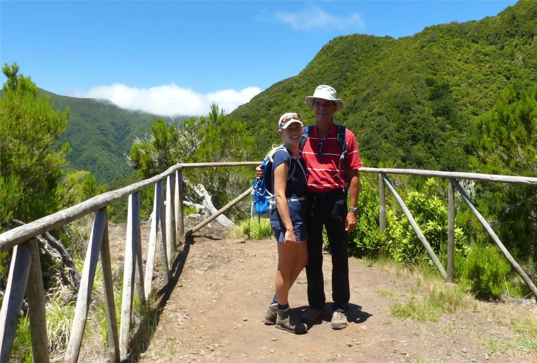 Madeira 4 am Aussichtspunkt