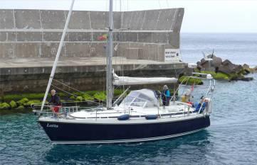 Madeira Ankunft der Lotta