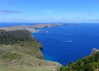Madeira Ausblick vom Pico Facho