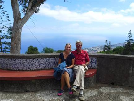 Madeira Blick über Funchal