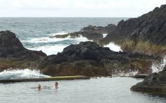 Madeira erfrischendes Bad