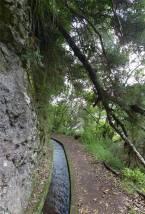 Madeira LdR netter Weg an der Levada