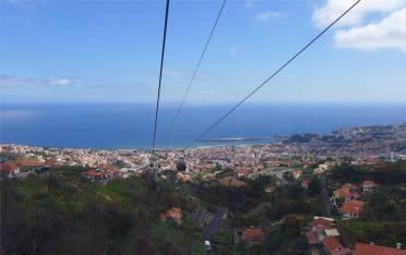 Madeira mit der Seilbahn