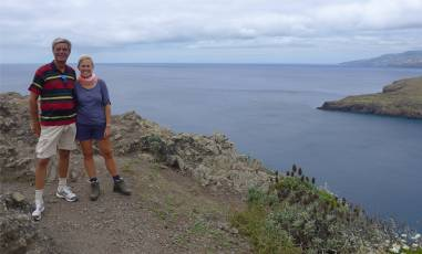 Madeira Osten Nobbi und Inga