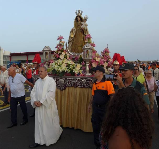 Teneriffa Carmen Prozession
