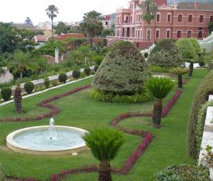 Teneriffa Garten in La Orotava