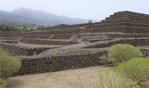Teneriffa Pyramiden von Güimar