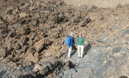 Teneriffa Teide ganz schön steinig
