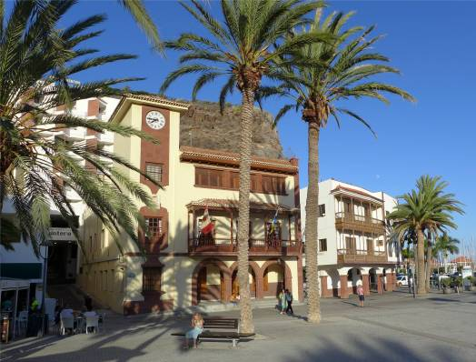 Gomera San Sebastian Rathaus