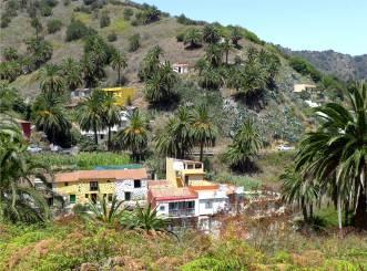 La Gomera bunte Häuser