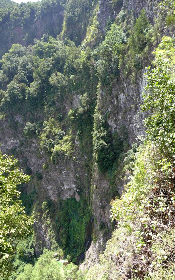 La Gomera längster Wasserfall