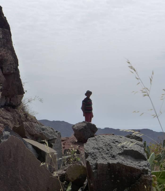 La Gomera Nobbi unterwegs