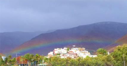 La Gomera Regenbogen