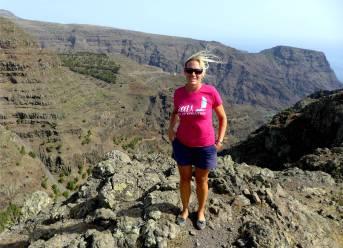 La Gomera windig auf dem Berg