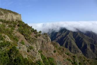 La Gomera Wolken wie Watte