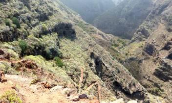 La Palma da gehts runter