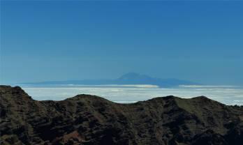 La Palma da ist Teneriffa
