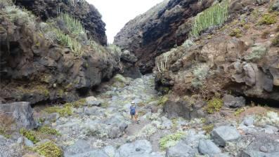 La Palma Inga und die Schlucht