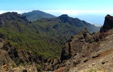 La Palma Lava und Wald