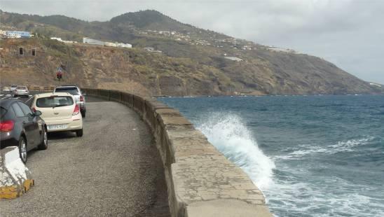 La Palma Parkplatz inklusive Autowäsche