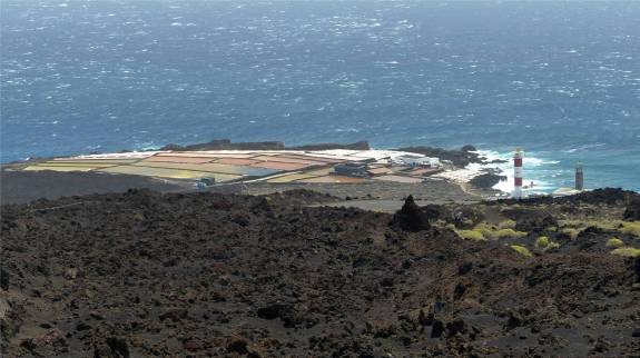 La Palma Salinen ganz im Süden