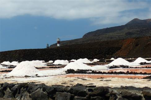 La Palma Salz und Leuchtturm