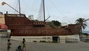 La Palma Santa Cruz gestrandetes Schiff