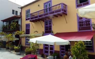 La Palma Santa Cruz lila Balkon