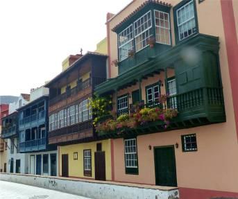 La Palma Santa Cruz sehr schöne Balkone