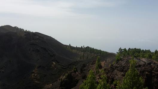 La Palma schwarzer Weg