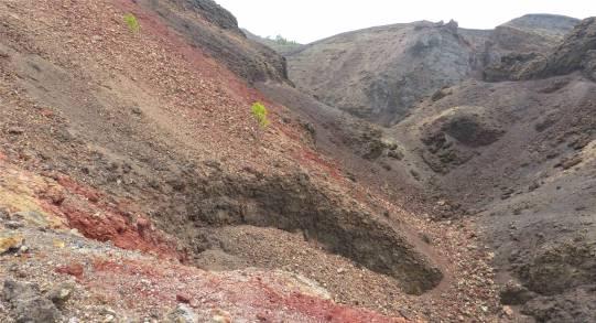 La Palma Steine in allen Farben