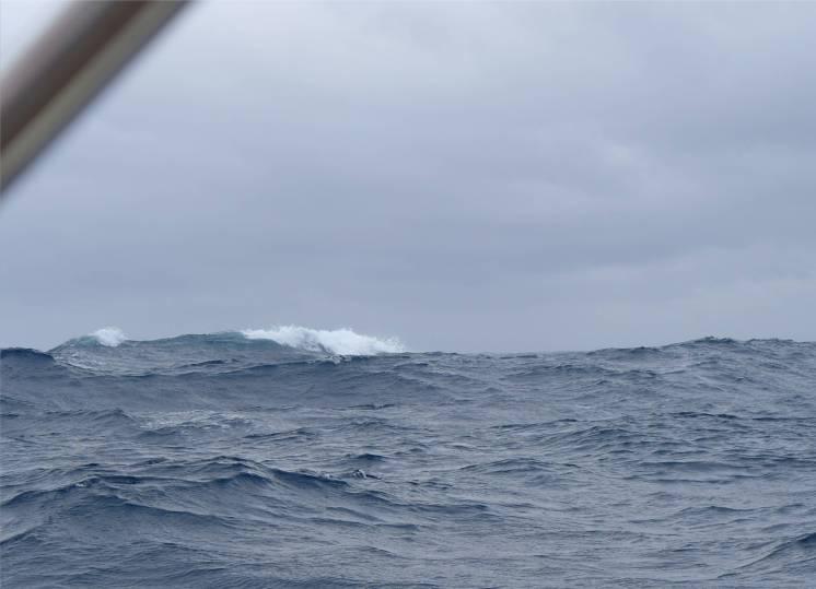 Passage CV das Meer in grau
