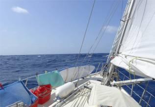 Passage CV so friedlich kann der Atlantik sein