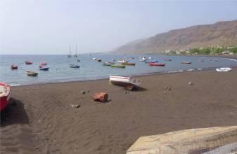 CV Sao Nicolau die Bucht von Tarrafal