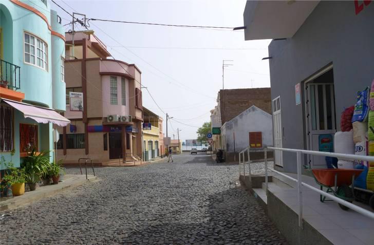CV Sao Nicolau Tarrafal Hauptstraße
