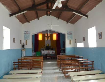 CV Sao Nicolau Tarrafal Kirche