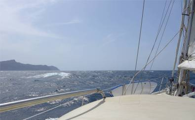 Atlantik Abfahrt sao Vicente