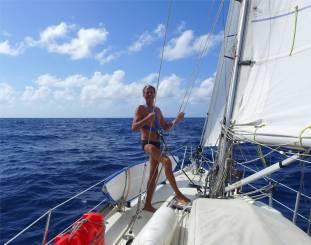 Atlantik an Deck immer angeleint