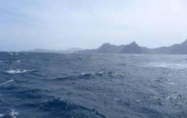 Atlantik Blick zuruck
