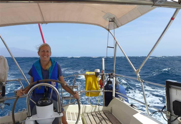 Atlantik Inga Abfahrt Mindelo