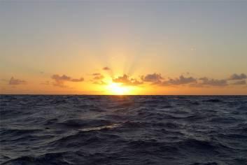 Atlantik Sonnenaufgang
