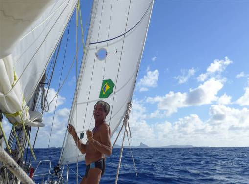 Atlantik Wir haben es geschafft Brasilien