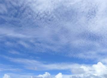 Atlantik Wolken 10